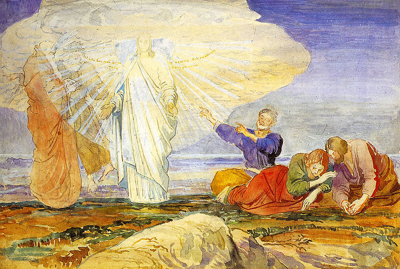 Transfiguration by Alexander Andreyevich Ivanov source wikimedia commons no copyright